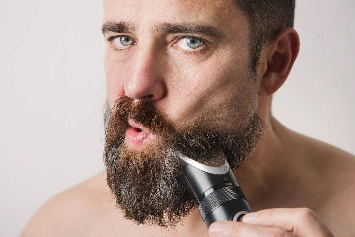 Test av skäggtrimmer